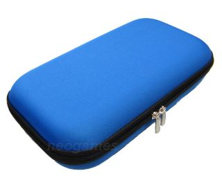 Blue Wii U Gamepad Controller Clam Shell Case for Nintendo Wii U by Tomee