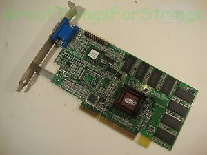 ATI Rage Graphics Card Pro 2X AMC Ver 2 0 AGP 16 MB Video Card N625 6000711