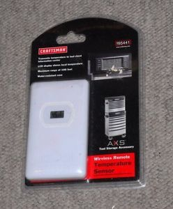 New Craftsman Wireless Remote Temperature Sensor AXS Storage Tool Accessory