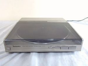 Technics SL 5 Direct Drive Linear Tracking Turntable Audio Technica Cartridge