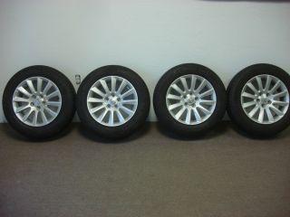 2013 Chrysler 300 17 inch Alloy Wheels and P215 65R17 Michelin Tires OE Mopar