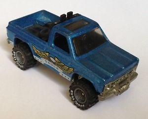 Hotwheels Bywayman Chevy Chevrolet Pickup Truck GYG Real Rider Goodyear Tires