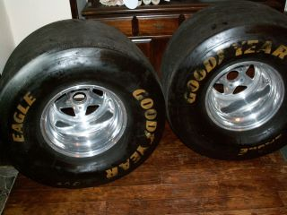 Weld Prostars and Goodyear Tires Chevy Ford Mopar NHRA Drag Racing Gasser