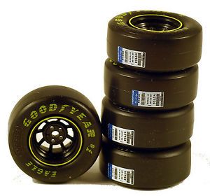 4 1 24 Scale Model NASCAR Wheels Rims Goodyear Tires Diorama Motorworks
