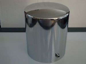 Chrome Oil Filter Cover Tall Fits Chevy Ford Mopar Hot Rods 327 350 454 302 289