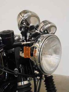 Chrome Cafe Racer Headlight Assembly Honda CB750 CB 750 Cafe Racer
