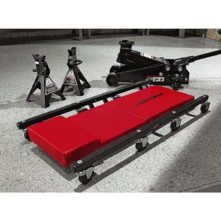 Craftsman 3 Ton Floor Jack Jack Stands Creeper Set Garage Hydraulic Pneumatic