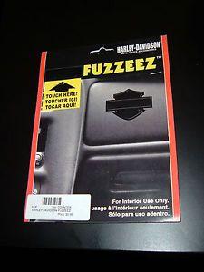"Harley Davidson ""Bar and Shield"" Fuzzeez Fabric Decal Auto Truck Accessories"
