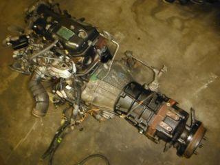 JDM Toyota 4Runner Pick Up Hilux Hiace 2L 2 4L Black Top Diesel Engine Trans