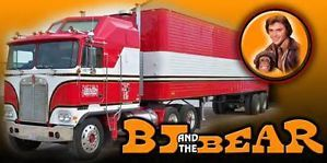 BJ and The Bear Custom Semi Truck Banner Must See