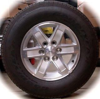 "New GMC Sierra Yukon 17"" Wheels Rims Tires Chevy Silverado Tahoe Suburban"