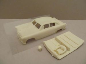 Vintage A2M 1949 Ford Tudor Molded Resin Body w Driver Glass 1 32 Slot Car