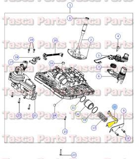 New Transmission Valve Body Detent 1993 2014 Dodge Chrysler Jeep 4431710