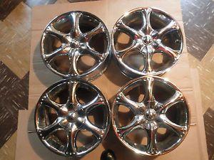 2004 Pontiac Grand Prix GM Pulse Chrome Wheels 16in 4