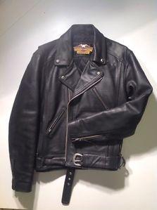 Harley Davidson Mens Leather Motorcycle Jacket