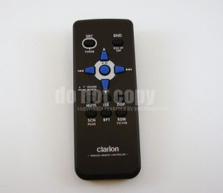 Clarion CMD5 Marine Boat Stereo CD MP3 Remote Control Warranty Tracking