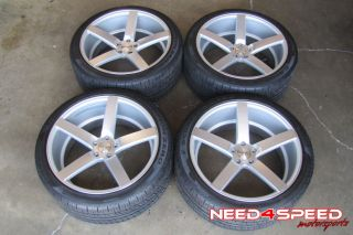 "22"" Range Rover HSE Sport Supercharged Vossen VVS CV3 Wheels Rims Pirelli Tires"