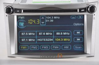 2010 2011 2012 Subaru Outback DVD GPS Navigation Double DIN Radio Indash Player