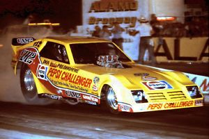 """Don """"Snake"""" Prudhomme's 1981 Pesi Challenger Funny Car Decals New"""