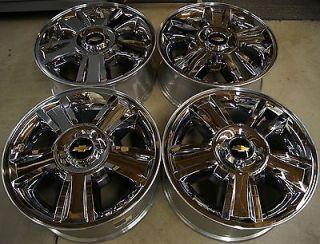"New Chevy Silverado Suburban Tahoe Avalanche Chrome 20"" Factory Wheels Rims"