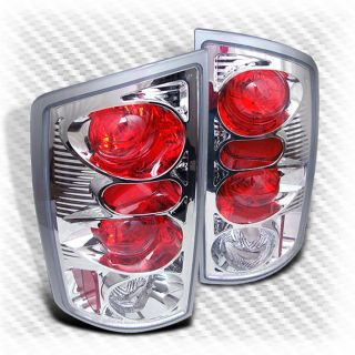 2002 2006 Dodge RAM altezza Tail Lights Lamps Rear Brake Pair Taillights Set