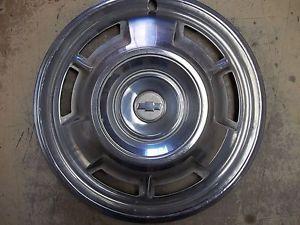 "1967 67 Chevrolet Camaro Hubcap Rim Wheel Cover Hub Cap 14"" Used 3001"