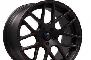 "20"" 2013 Lexus gs350 GS450H GS Rohana RC26 Concave Black Staggered Wheels Rims"