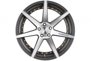 """20"""" Vertini Dynasty Machined Concave Wheels Rims Fits Lexus gs350 GS460"""