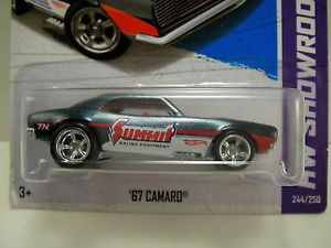2013 Hot Wheels Super Treasure Hunt '67 Camaro Summit RR 1967 Chevy NIP