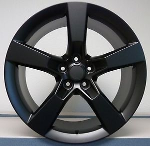 20x8 20x9 Staggered Flat Black 2010 2011 2012 2013 Camaro SS Wheels Rims Set