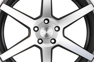 "20"" Hyundai Genesis Coupe Stance SC 6IX SC6 Machine Concave Staggered Wheel Rims"