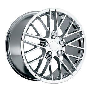 C6 ZR1 Corvette Chrome Wheels Rims for C4 or C5
