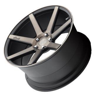 """20"""" Niche Verona M150 Black Machined Concave Wheels 20x9 Rims Fits Audi A5"""