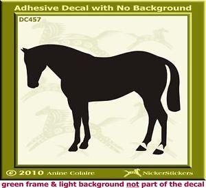 Quarter Horse Trailer Custom Window Decal Sticker 457