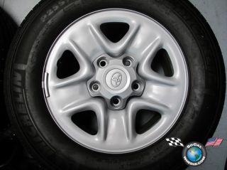 Four 07 13 Toyota Tundra Sequoia Factory 18 Tires Michelin 69547