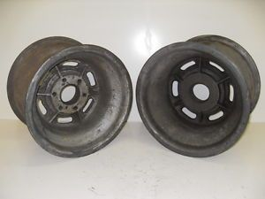 Vintage Sprint Car Nance Halibrand Wheels Hot Rod