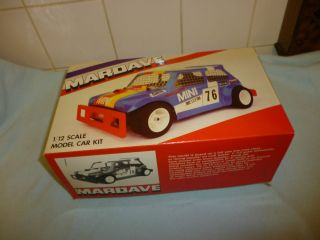Mardave Mini Battery Operated Stock Car Spares or Repair