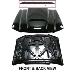 Styleline New Cowl Hood Primered Full Size Truck Chevy Chevrolet Silverado 1500