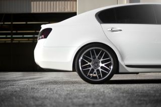 "20"" Lexus GS300 GS400 GS430 Roderick RW6 Concave Staggered Wheels Rims"