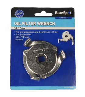 Blue Spot Oil Filter Wrench Fits Foreign Domestic Auto Light Truck DIY Tools
