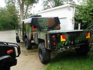 M1102 H1 HMMWV Humvee Trailer Military Cargo Trailer Hummer Camo