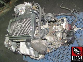 98 03 Caldina Celica MR2 4th Gen ST215 Turbo Engine 5SPD FWD Trans JDM 3SGTE