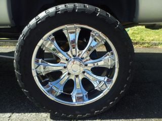 """37x13 50R24 Toyo Open Country M T Tires on 24"""" 8 Lug American Racing Rims"""