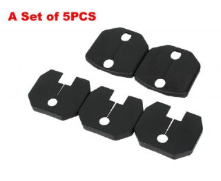 For Ford Ecosport Car Door Lock Buckle Decorated Rust Protection Cover 5pcs