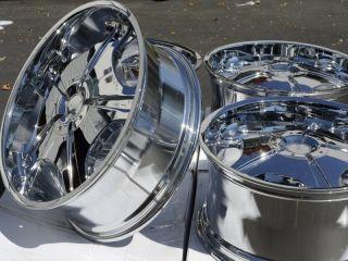 "22"" Chrome Wheels Rims Dodge Nitro Ford Crown Victoria Explorer GMC Jimmy Sonoma"