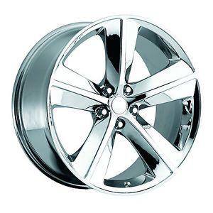 """22"""" Chrome Challenger SRT8 Wheels Tires Fit Dodge Charger Magnum Chrysler 300C"""