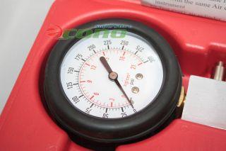 Auto Gas Engine Compression Tester Testing Diagnostic Gauge Kit Automotive Tool