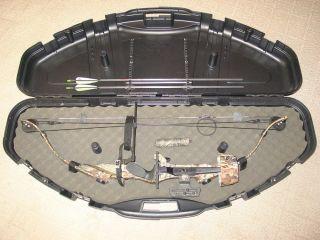 Golden Eagle 55 70 lb Talon Turbo Compound Bow w Case Accessories RH Nice