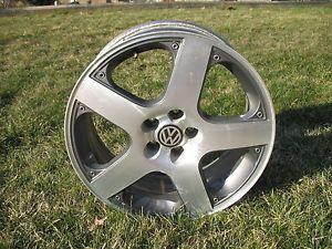 1 VW Volkswagen MKIV MK4 Rim Wheel Monte Carlo 5x100 17 GTI Golf