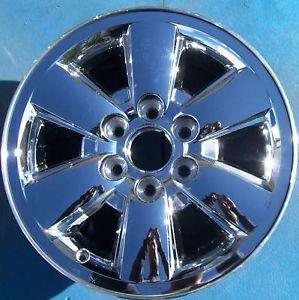 """2009 2010 2011 GMC Yukon XL Sierra Denali 1500 Pickup 18"""" Wheel Rim Chrome"""